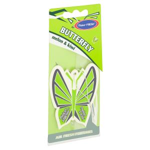 Mister Fresh Butterfly Melon & kiwi osvěžovač vzduchu 7,5g