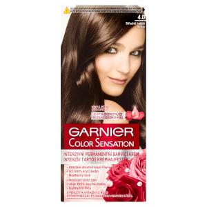 Garnier Color Sensation Intenzivní permanentní barvící krém středně hnědá 4.0
