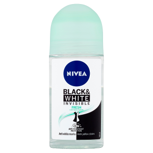 Nivea Black & White Invisible Fresh Kuličkový antiperspirant 50ml