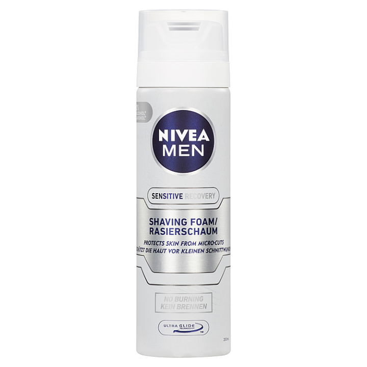 Nivea Men Sensitive Recovery Pěna na holení 200ml