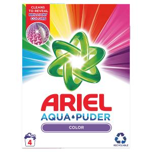 Ariel AquaPuder  Color Prací Prášek 4 Praní
