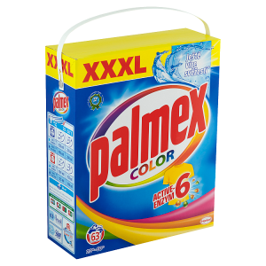 PALMEX prací prášek Color BOX 63 praní, 4,095kg