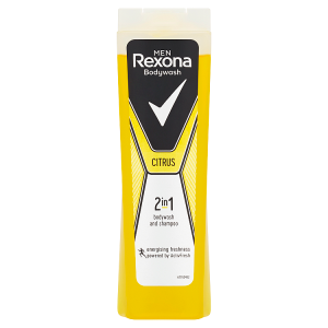 Rexona Osvěžující pánský sprchový gel a šampon 2v1 Citrus 250ml