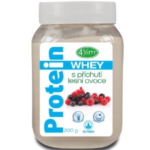 4Slim Whey protein  s příchutí lesní ovoce 200g