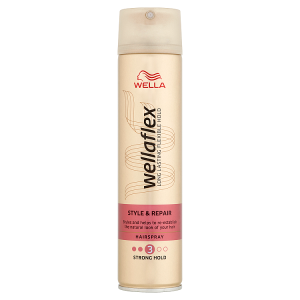 Wella Wellaflex Style & Repair Strong Hold lak na vlasy 250ml