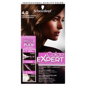 Schwarzkopf Color Expert barva na vlasy Chladně Hnědý 4.0