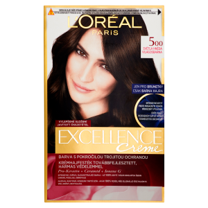L'Oréal Paris Excellence Creme Světlá hnědá 500