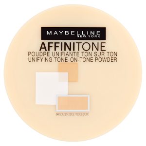 Maybelline New York Affinitone 24 Golden Beige pudr 9g