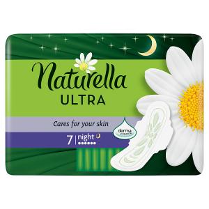 Naturella Ultra Camomile Night Hygienické Vložky 7x