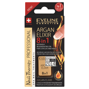 Eveline Cosmetics Nail Therapy Professional Regenerační elixír na kůžičku a nehty 12ml