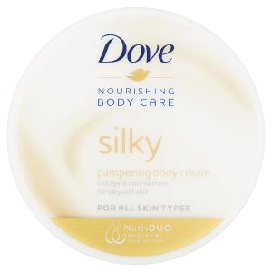Dove Silky výživný tělový krém pro všechny typy pleti 300ml
