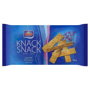 Racio Knäck Snack Žitné sypané kmínem 100g