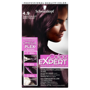 Schwarzkopf Color Expert barva na vlasy Tmavě Fialový 4.9