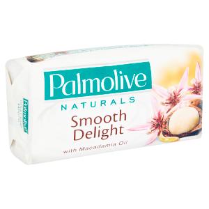 Palmolive Naturals Smooth delight mýdlo s makadamovým olejem a výtažkem z kakaa 90g