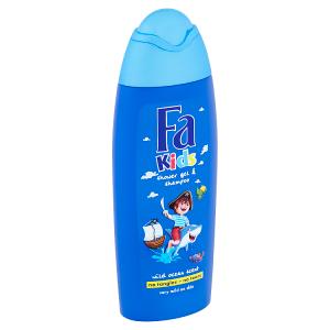 Fa Kids sprchový gel a šampón Wild Ocean 250ml