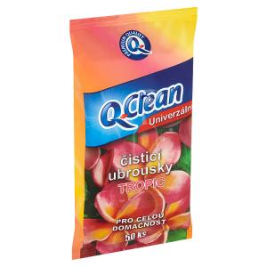 Q-Clean Univerzální čisticí ubrousky Tropic 50 ks