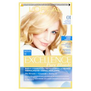 L'Oréal Paris Excellence Creme blond ultra světlá přírodní 01