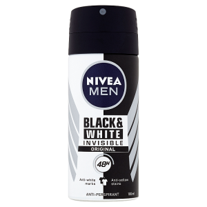 Nivea Men Black & White Invisible Original Sprej antiperspirant 100ml
