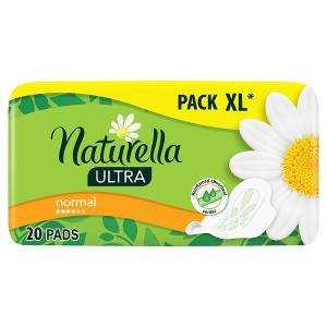 Naturella Ultra Normal Camomile Hygienické Vložky S Křidélky 20ks