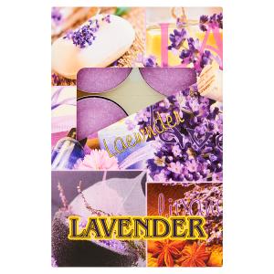 Svíčky lavender 6 ks