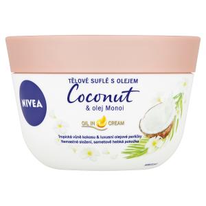 Nivea Tělové suflé s olejem Coconut & olej Monoi 200ml