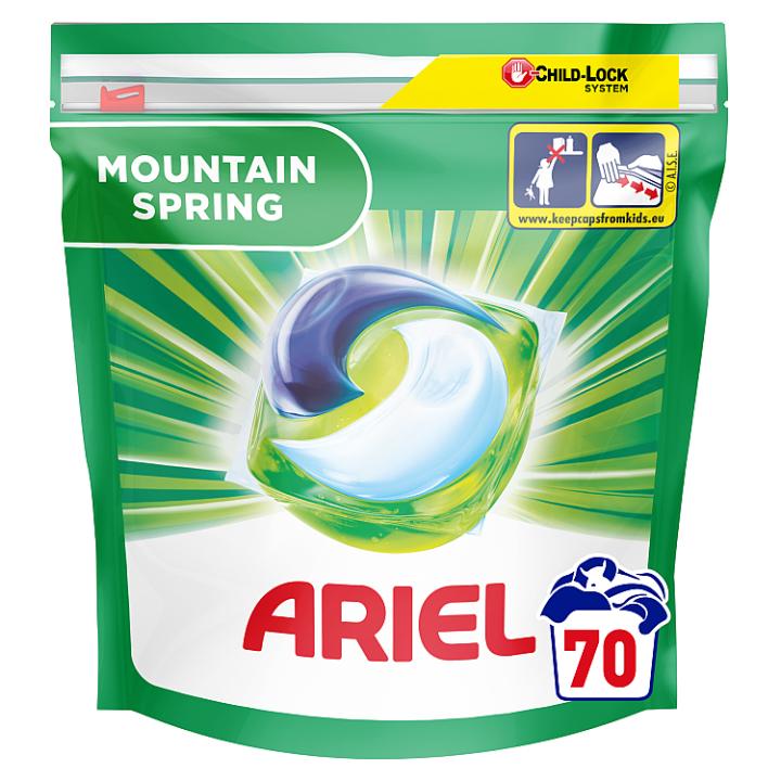 Ariel Allin1 Pods Mountain Spring Kapsle Na Praní 70 Praní