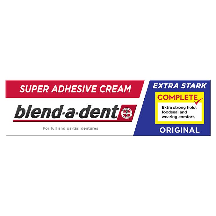 Blend-a-dent Complete Fixační Krém Na Zubní Náhradu 47g, Original Blend-a-dent