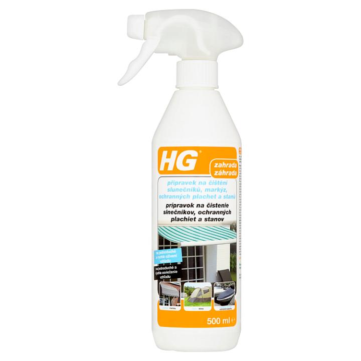 HG Přípravek na čištění slunečníků, markýz, ochranných plachet a stanů 500ml