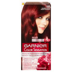 Garnier Color Sensation Intenzivní permanentní barvící krém granátově červená 5.62