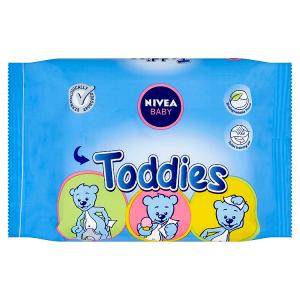 Nivea Baby Toddies Ubrousky 60 ks