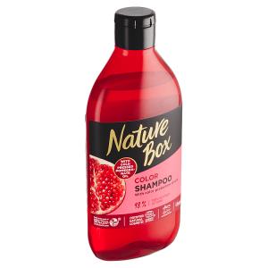 Nature Box šampon pro barvené vlasy Pomegranate Oil 385ml