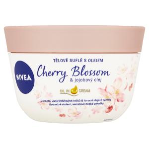 Nivea Tělové suflé s olejem Cherry Blossom & jojobový olej 200ml