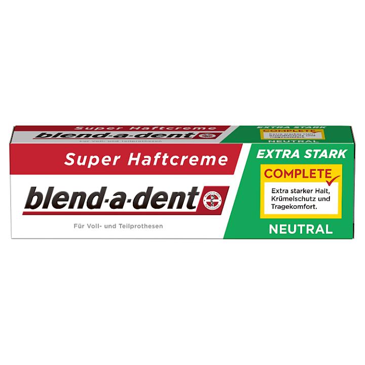 Blend-a-dent Complete Fixační Krém Na Zubní Náhradu 47g, Neutral Blend-a-dent