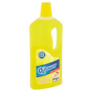 Q-Power Univerzální mycí prostředek vůně citrónu 1l