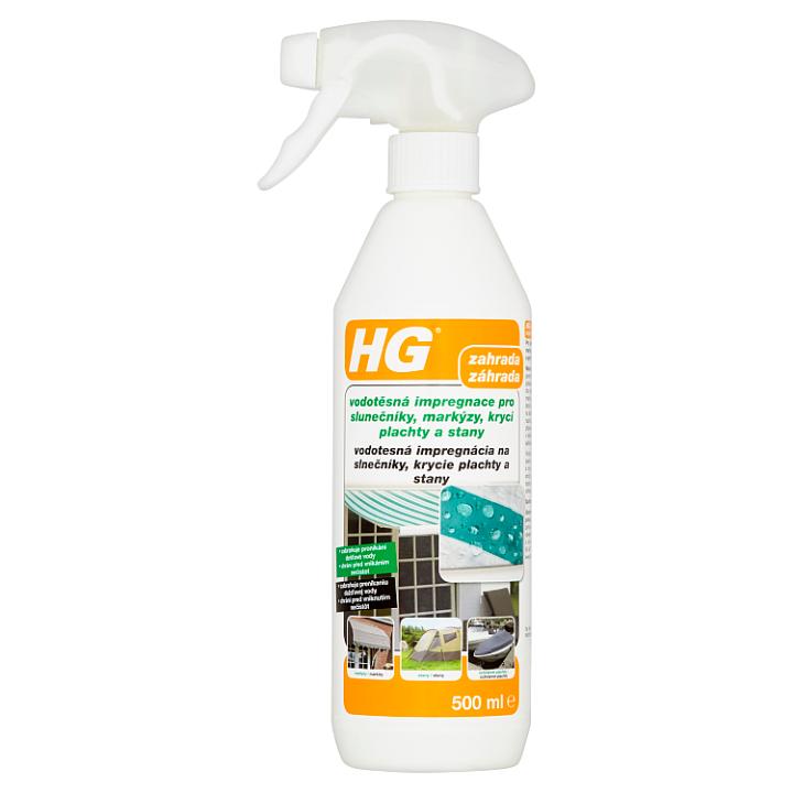 HG Vodotěsná impregnace pro slunečníky, markýzy, krycí plachty a stany 500ml