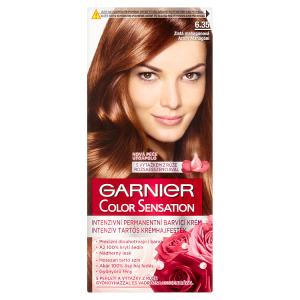 Garnier Color Sensation Intenzivní permanentní barvící krém zlatá mahagonová 6.35