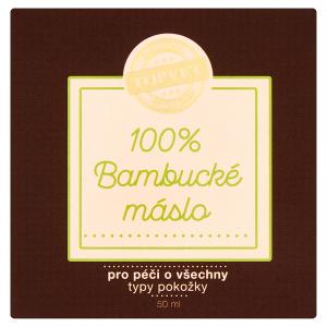 Topvet 100% bambucké máslo 50ml