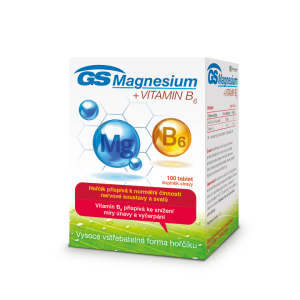 GS Magnesium + vitamin B6 (100tbl/kra)