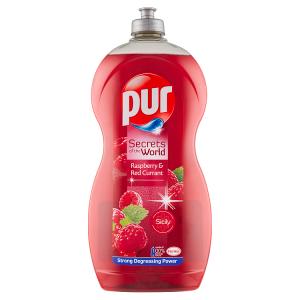 Pur Secrets of the World Raspberry & Red Currant přípravek na ruční mytí nádobí 1,2l