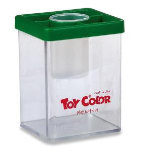 Toy Color kelímek na vodu a štětce mix barev