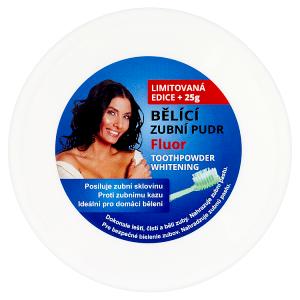 Evadent Bělící zubní pudr fluor 55g
