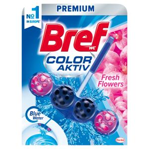 Bref Color Aktiv Fresh Flowers tuhý WC blok 50g