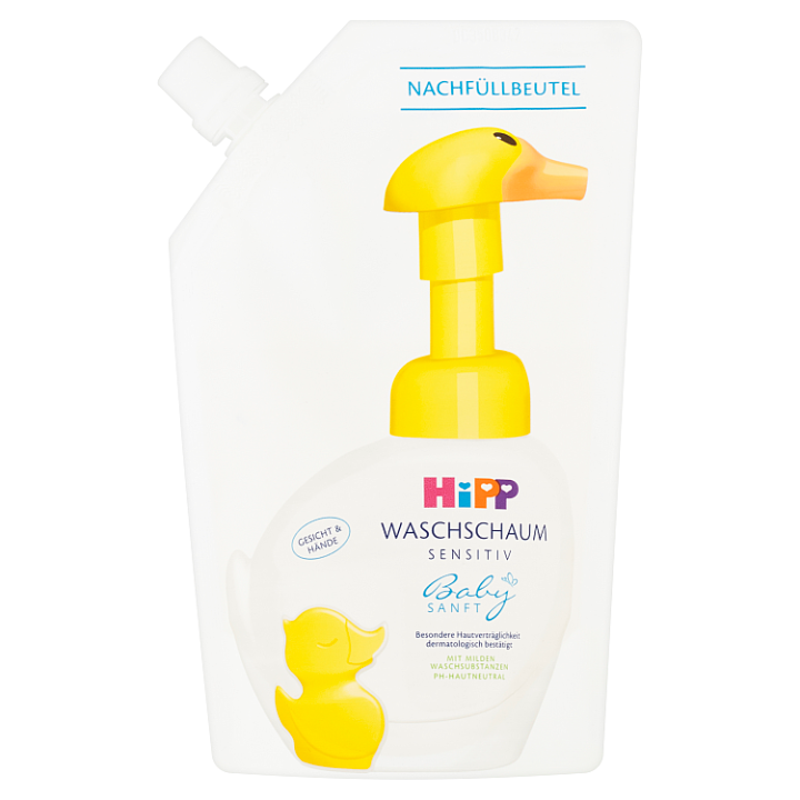 HiPP Babysanft Sensitive pěna na mytí 250ml