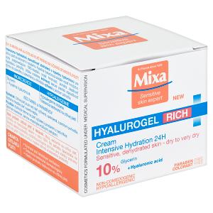 Mixa Sensitive Skin Expert Hyalurogel intenzivní hydratační péče 50ml