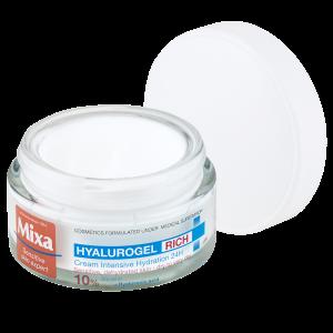 MIXA Hyalurogel Rich intenzivní hydratační péče, 50ml