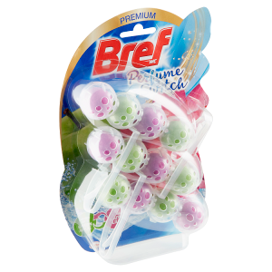 Bref Perfume Switch Green Apple - Water Lily pevný WC blok 3 x 50g