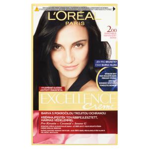 L'Oréal Paris Excellence Creme černohnědá 200