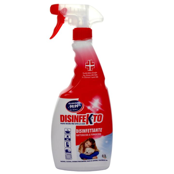 DISINFEKTO DEZINFEKCE VE SPREJI 500 ml