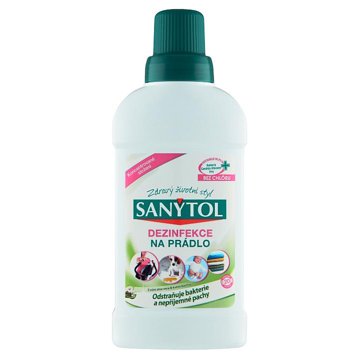 Sanytol Dezinfekce na prádlo s vůní aloe vera & květů bavlny 500ml