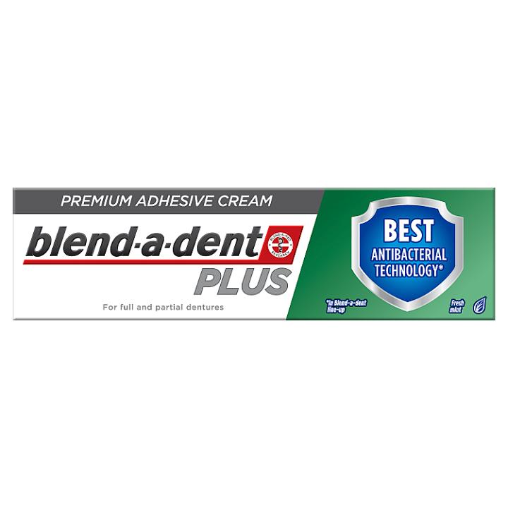 Blend-a-dent Plus Dual Protection Premium Fixační Krém Na Zubní Náhradu 40 g Blend-a-dent